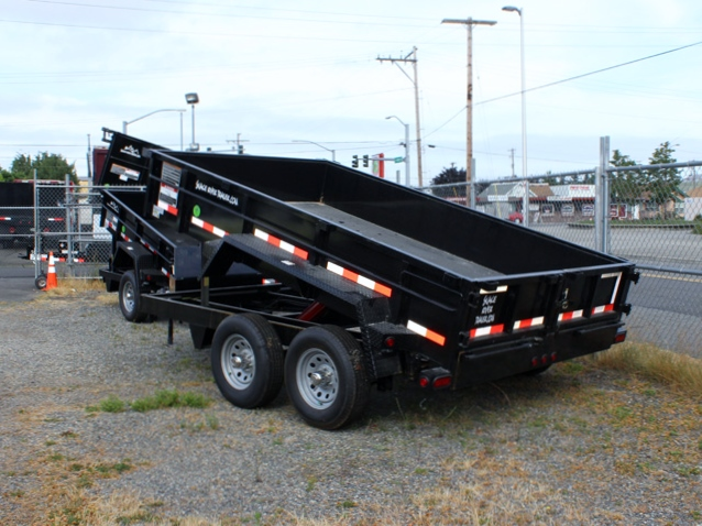 DMP6X12ECON.B. 2016 SNAKE RIVER 6 ft. x 12 ft. Dump Trailer from Town and Country Commercial Trailer and Truck Sales, Kent (Seattle), WA