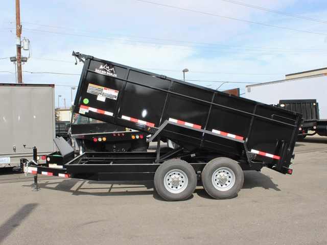 DMP36X14X14K.C. SNAKE RIVER 36 in. Tall Sided Dump Trailer from Town & Country Trailer Sales, Kent (Seattle) WA