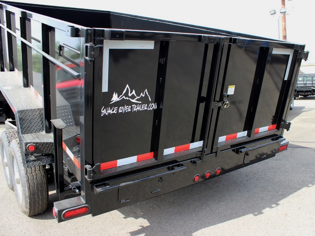 DMP36X14X14K.L. SNAKE RIVER 36 in. Tall Sided Dump Trailer from Town & Country Trailer Sales, Kent (Seattle) WA