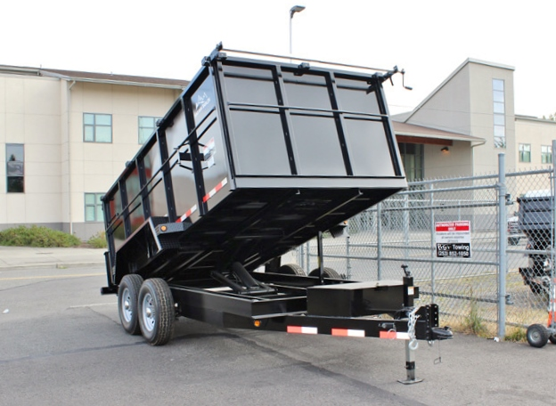 DMP48X14X14K.C. SNAKE RIVER 48 in. Tall Sided Dump Trailer from Town & Country Trailer Sales, Kent (Seattle) WA