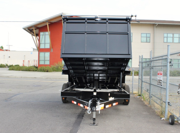 DMP48X14X14K.D. SNAKE RIVER 48 in. Tall Sided Dump Trailer from Town & Country Trailer Sales, Kent (Seattle) WA
