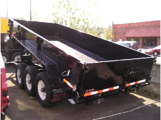 HV82X16.D. 2016 Midsota Versadump 82″ x 16′ Dump Trailer from Town and Country Commercial Trailer and Truck Sales, Kent (Seattle), WA