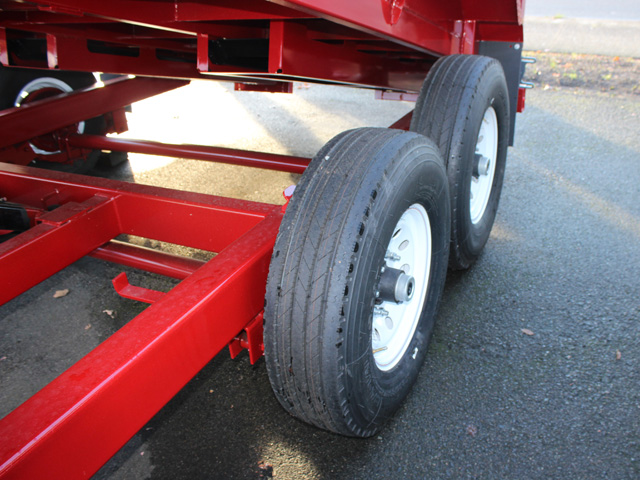 1109.E. NEW Versa HV-14 82 inch x 14 feet dump trailer from Town and Country Commercial Trailer and Truck Sales, Kent (Seattle), WA