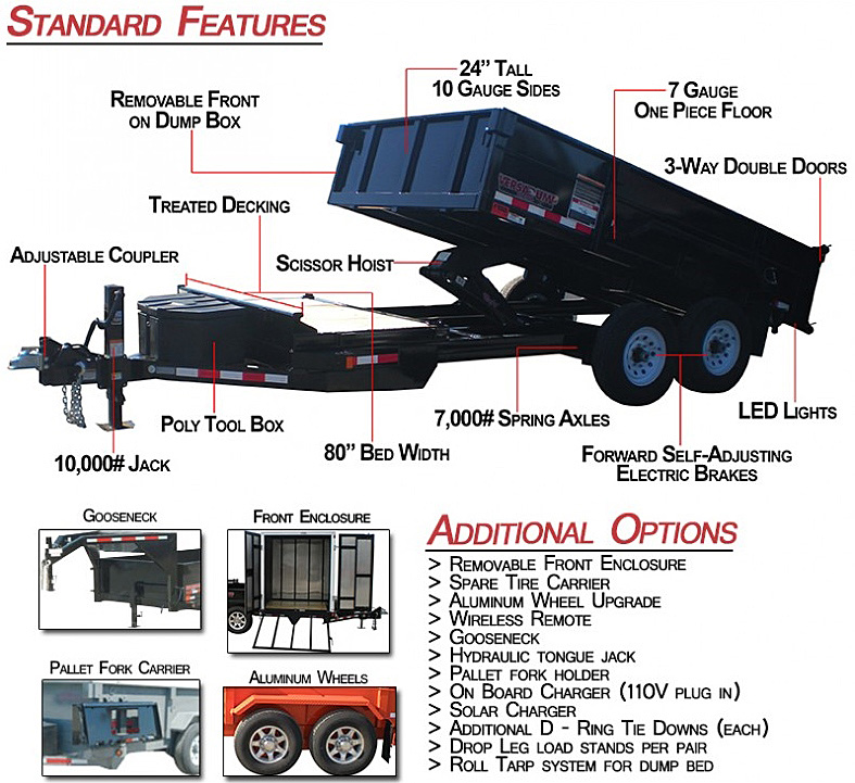 Midsota FFRD Series Trailers from Town and Country Commercial Trailer and Truck Sales, Kent (Seattle), WA