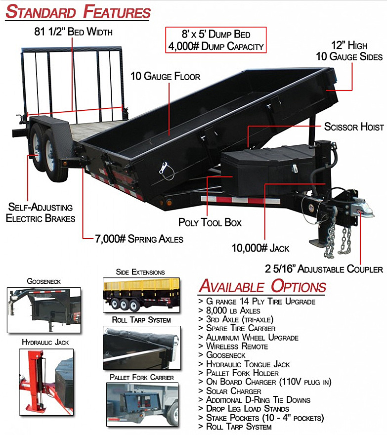 Midsota HS Series Trailers from Town and Country Commercial Trailer and Truck Sales, Kent (Seattle), WA