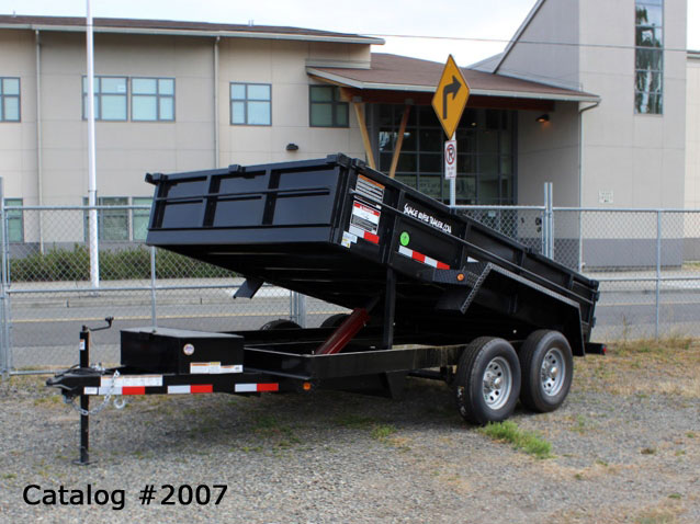2007.A. Snake River Dump Trailers from Town and Country Commercial Trailer and Truck Sales, Kent (Seattle), WA