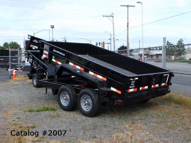 2007.B. Snake River Dump Trailers from Town and Country Commercial Trailer and Truck Sales, Kent (Seattle), WA
