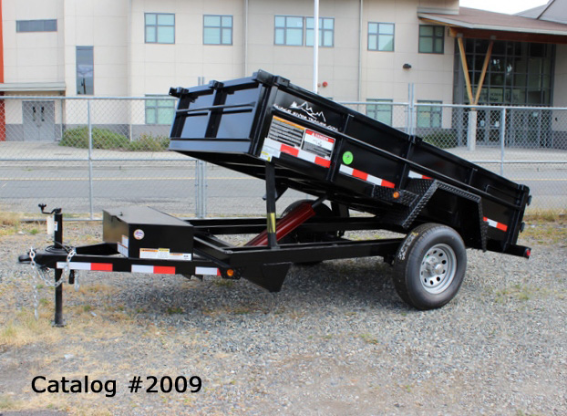 2009.A. Snake River 5 Ft. Wide Dump Trailers from Town and Country Commercial Trailer and Truck Sales, Kent (Seattle), WA