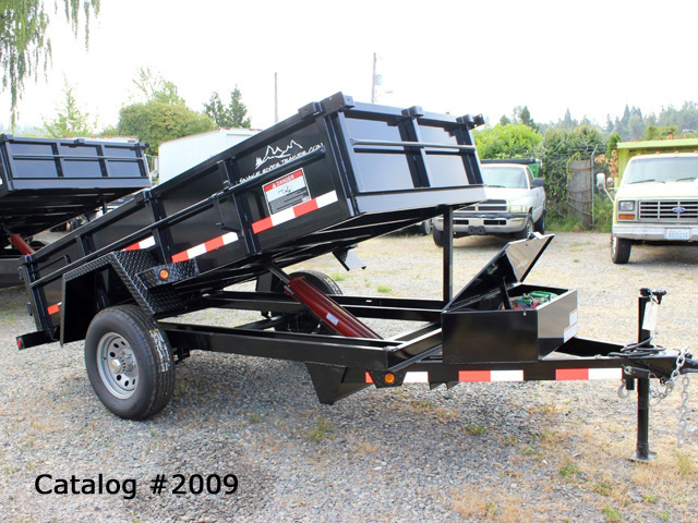 2009.B. Snake River 5 Ft. Wide Dump Trailers from Town and Country Commercial Trailer and Truck Sales, Kent (Seattle), WA
