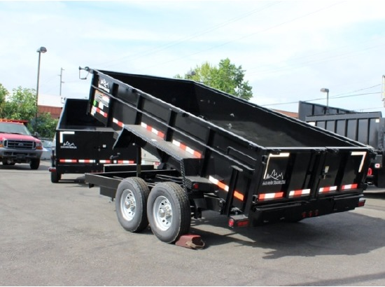 2016.O. Snake River 7 ft. Wide Dump Trailers from Town and Country Commercial Trailer and Truck Sales, Kent (Seattle), WA