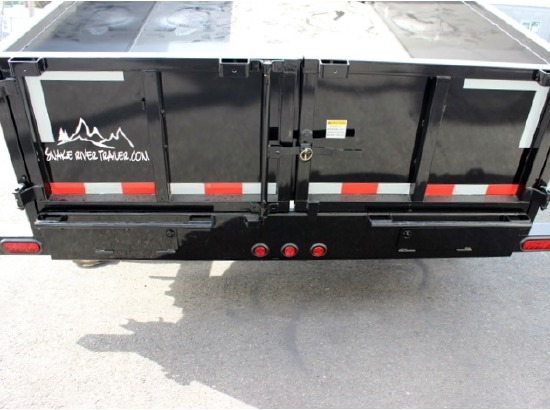 2016.R. Snake River 7 ft. Wide Dump Trailers from Town and Country Commercial Trailer and Truck Sales, Kent (Seattle), WA