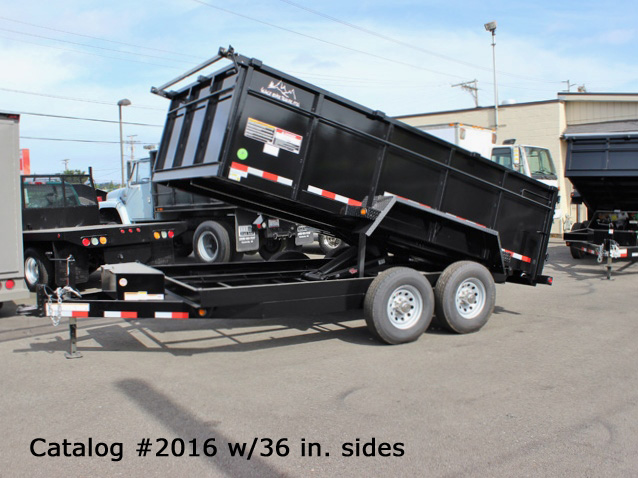 2016.F. Snake River 7 ft. Wide Dump Trailers from Town and Country Commercial Trailer and Truck Sales, Kent (Seattle), WA