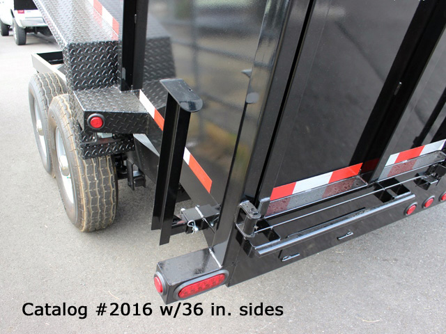 2016.I. Snake River 7 ft. Wide Dump Trailers from Town and Country Commercial Trailer and Truck Sales, Kent (Seattle), WA