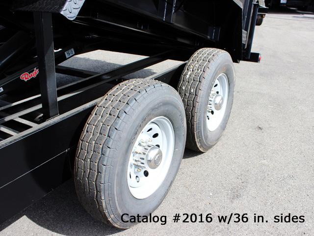 2016.K. Snake River 7 ft. Wide Dump Trailers from Town and Country Commercial Trailer and Truck Sales, Kent (Seattle), WA