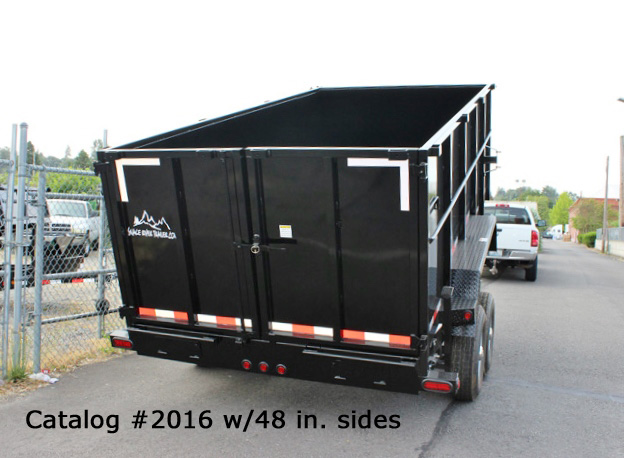 2016.C. Snake River 7 ft. Wide Dump Trailers from Town and Country Commercial Trailer and Truck Sales, Kent (Seattle), WA