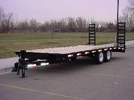 2055.C. Snake River Deck Over Equipment Flatbed Trailer from Town and Country Commercial Trailer and Truck Sales, Kent (Seattle), WA