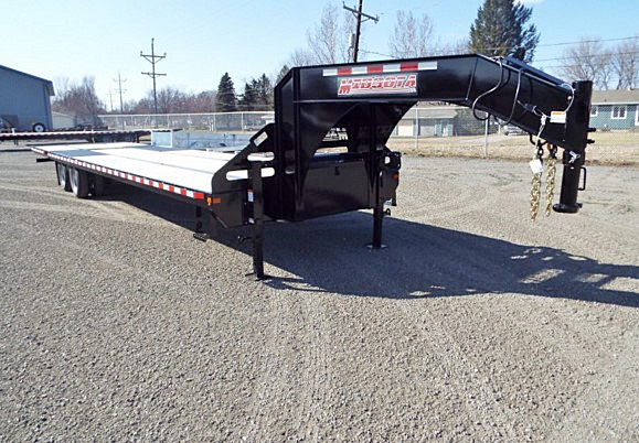 FBGN.B. FBGN Series Gooseneck Flatbed Trailers from Town and Country Commercial Trailer and Truck Sales, Kent (Seattle), WA
