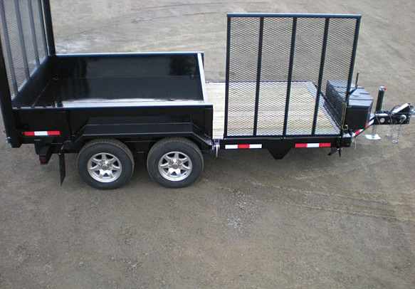 FRRD.D. Midsota HS Series Front Flat Rear Dump Trailer from Town and Country Commercial Trailer and Truck Sales, Kent (Seattle), WA