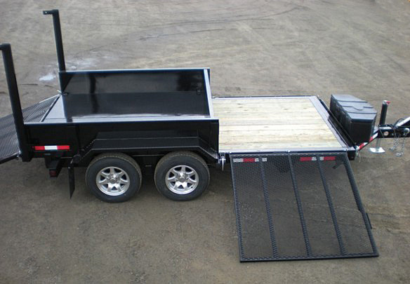 FFRD.E. Midsota HS Series Front Flat Rear Dump Trailer from Town and Country Commercial Trailer and Truck Sales, Kent (Seattle), WA
