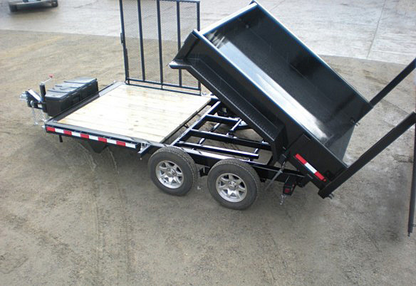 FFRD.G. Midsota HS Series Front Flat Rear Dump Trailer from Town and Country Commercial Trailer and Truck Sales, Kent (Seattle), WA