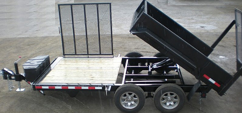 FFRD.H. Midsota HS Series Front Flat Rear Dump Trailer from Town and Country Commercial Trailer and Truck Sales, Kent (Seattle), WA