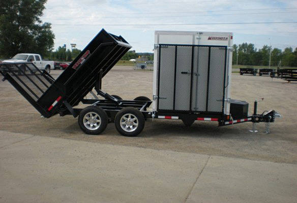 FFRD.P. Midsota HS Series Front Flat Rear Dump Trailer from Town and Country Commercial Trailer and Truck Sales, Kent (Seattle), WA
