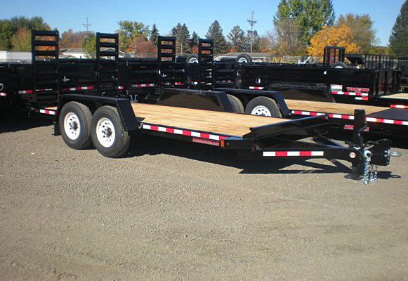 ST.A. ST Series Skid Steer Trailers from Town and Country Commercial Trailer and Truck Sales, Kent (Seattle), WA