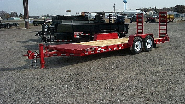 ST.C. ST Series Skid Steer Trailers from Town and Country Commercial Trailer and Truck Sales, Kent (Seattle), WA
