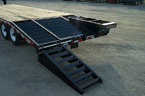 STO.D. STO Series Skid Steer Trailers from Town and Country Commercial Trailer and Truck Sales, Kent (Seattle), WA