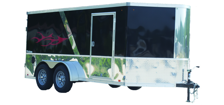 23A. Vision Motorcycle Trailers from Town and Country Truck and Trailer, Kent (Seattle) WA