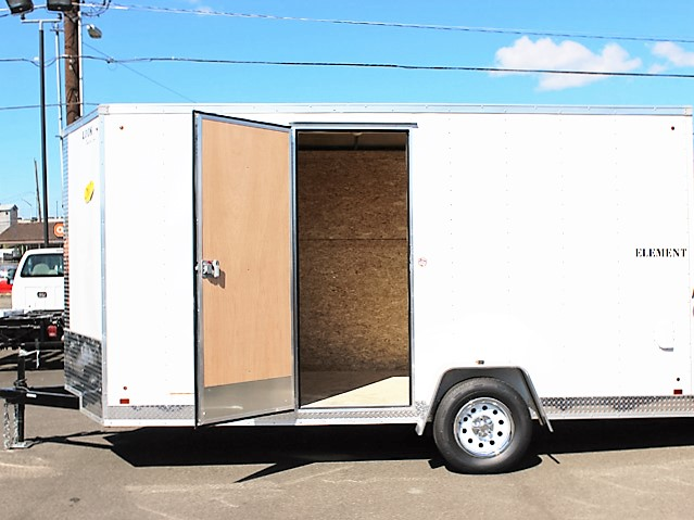 E10. Look Element cargo trailer from Town and Country Truck and Trailer, Kent (Seattle) WA