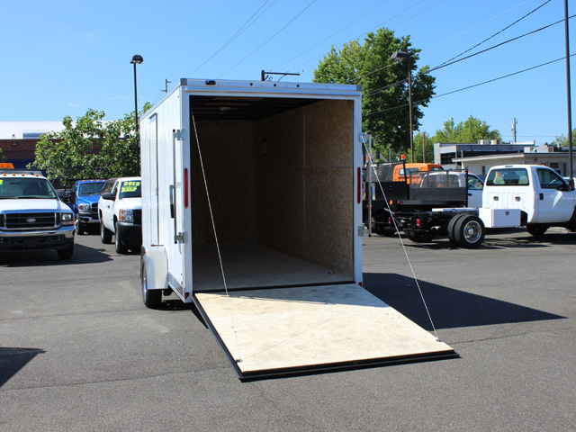 E8. Look Element cargo trailer from Town and Country Truck and Trailer, Kent (Seattle) WA