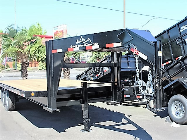 GN3. Snake River gooseneck trailers from Town and Country Truck and Trailer, Kent (Seattle) WA