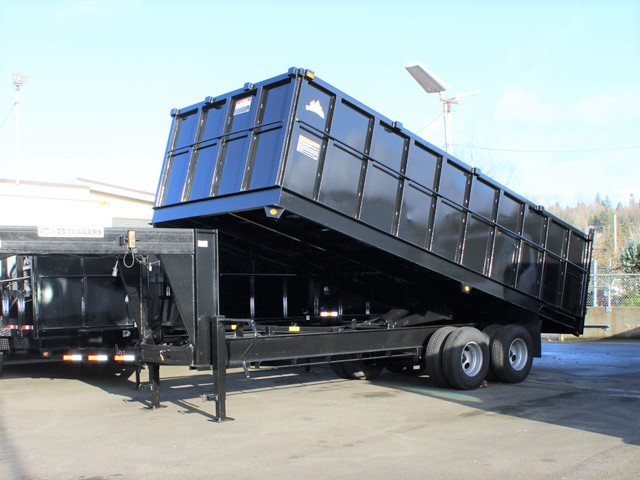 6090.C. 2006 C&B 20 ft. Tall-Sided Gooseneck Trailer from Town and Country Commercial Truck and Trailer Sales, Kent (Seattle), WA
