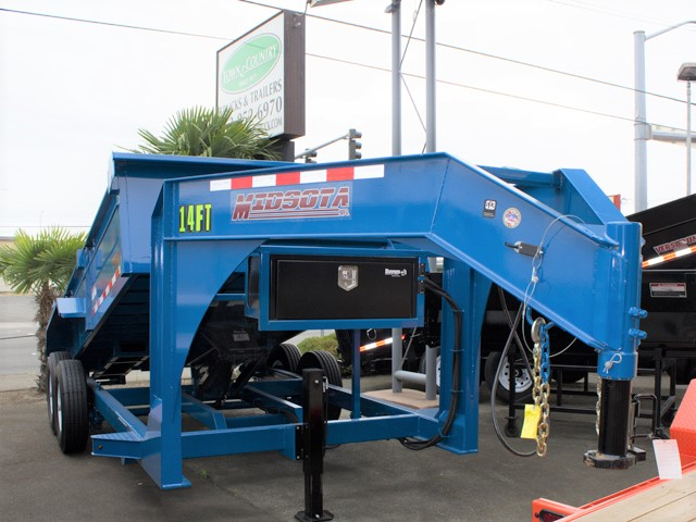 HV13. Midsota Versadump HV Series commercial grade dump trailers from Town and Country Truck / Trailer, Kent (Seattle) WA.
