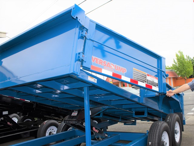 HV6. Midsota Versadump HV Series commercial grade dump trailers from Town and Country Truck / Trailer, Kent (Seattle) WA.