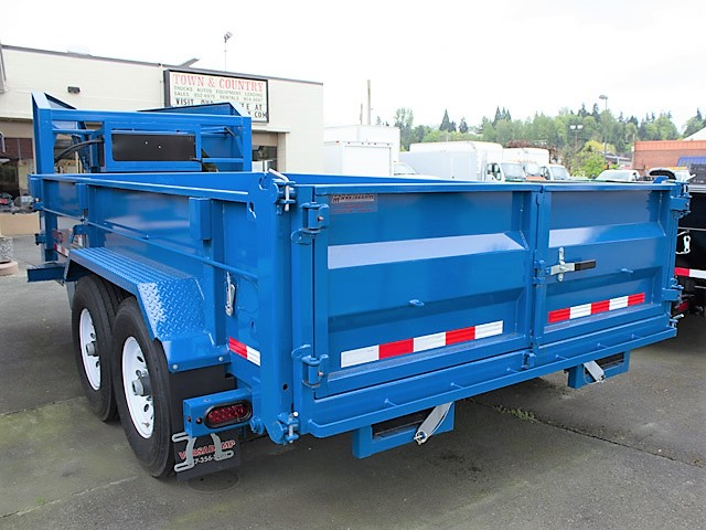 6222.F. New Midsota HV Series Gooseneck Trailer from Town and Country Commercial Truck and Trailer Sales, Kent (Seattle), WA.