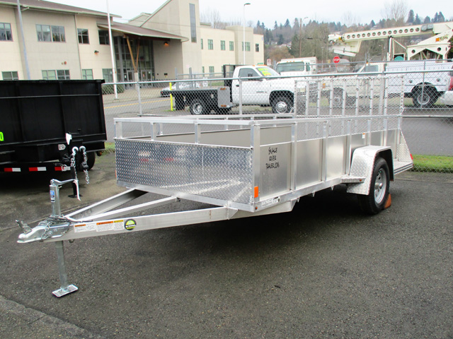 Snake River6 ft. x 12 ft.Aluminum Utility Trailer from Town and Country Truck and Trailer Sales, Kent (Seattle), WA.