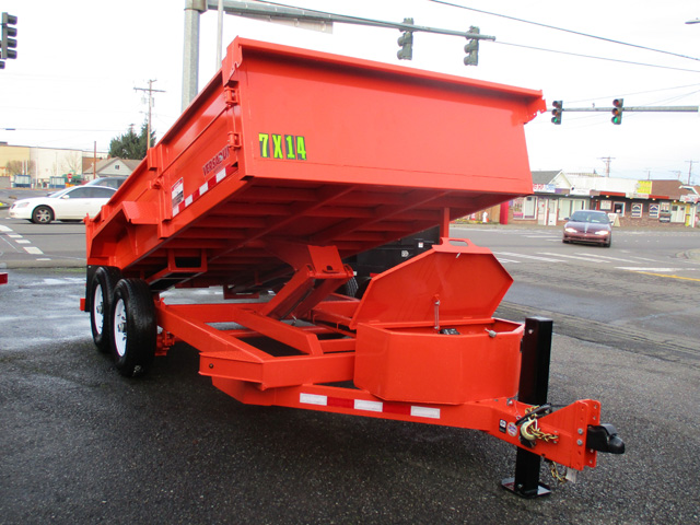 Midsota7 ft. x 14 ft.Versadump Dump Trailer from Town and Country Truck and Trailer Sales, Kent (Seattle), WA.