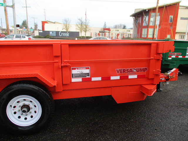 6411.H. Midsota 7 ft. x 14 ft. Versadump Dump Trailer from Town and Country Commercial Truck and Trailer Sales, Kent (Seattle), WA.
