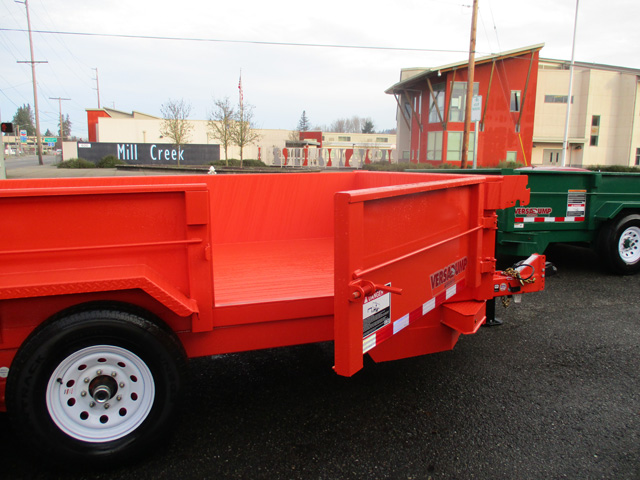 6411.I. Midsota 7 ft. x 14 ft. Versadump Dump Trailer from Town and Country Commercial Truck and Trailer Sales, Kent (Seattle), WA.