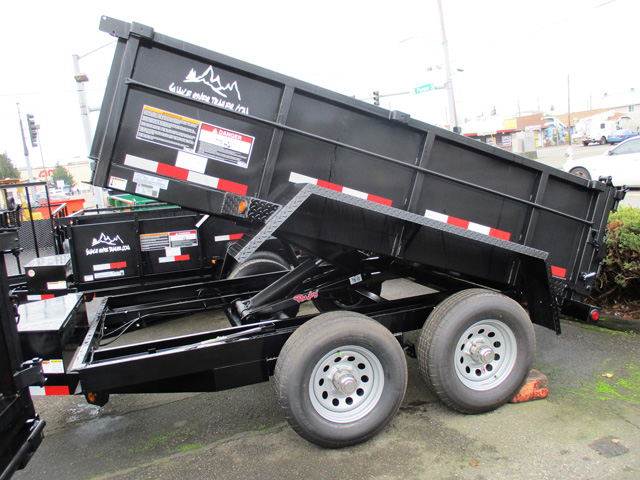 Snake River 6 ft. x 10 ft. Dump Trailer from Town and Country Truck and Trailer Sales, Kent (Seattle), WA.