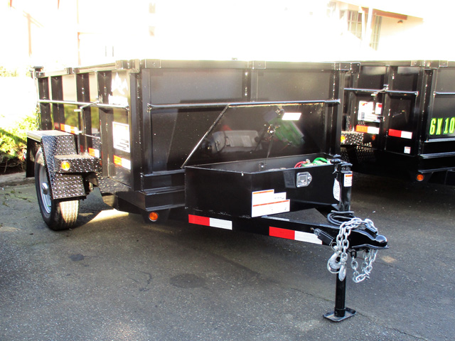 2020 SNAKE RIVER 5 ft. x 8 ft. Dump Trailer from Town and Country Truck and Trailer Sales, Kent (Seattle), WA.