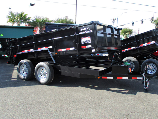 2020 SNAKE RIVER 7 ft. x 12 ft. x 26 in. Dump Trailer from Town and Country Truck and Trailer Sales, Kent (Seattle), WA.