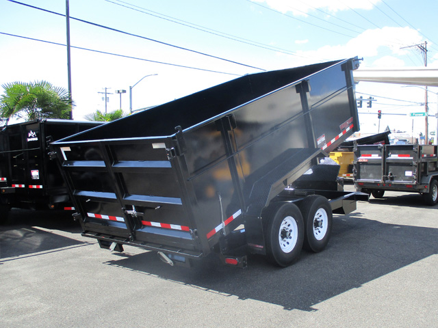 2109 Midsota Versadump HV14 tall sided dump trailer from Town and Country Truck and Trailer Sales, Kent (Seattle), WA.