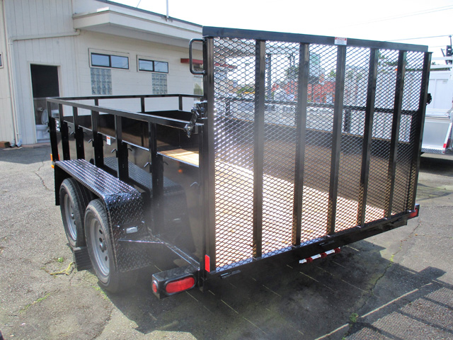 6458.C. 2020 Snake River 6x12 Utility Trailer from Town and Country Truck and Trailer Sales, Kent (Seattle), WA.