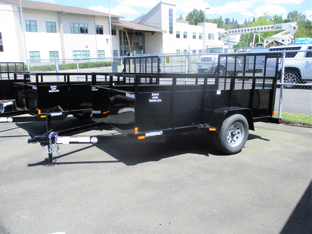 2020 Snake River 5x10 utility trailer from Town and Country Truck and Trailer Sales, Kent (Seattle), WA.
