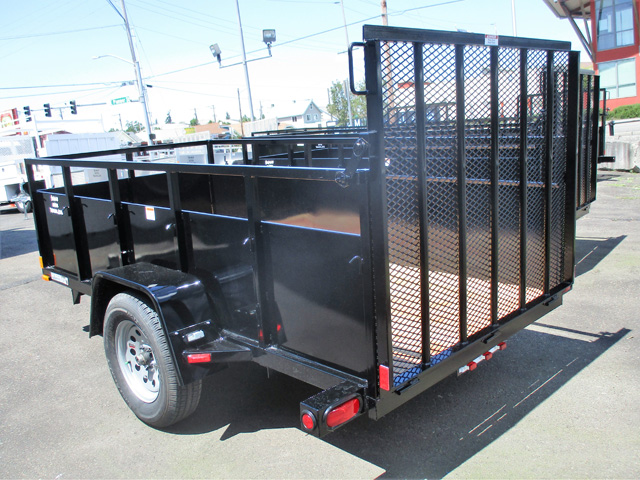 6460.D. 2020 Snake Rviver 5x10 utility trailer from Town and Country Truck and Trailer Sales, Kent (Seattle), WA.