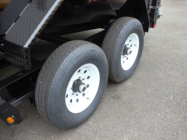 6494.J. 2021 LIBERTY 7 ft. x 16 ft. x 42 in. dump trailer from Town and Country Truck and Trailer Sales, Kent (Seattle), WA.