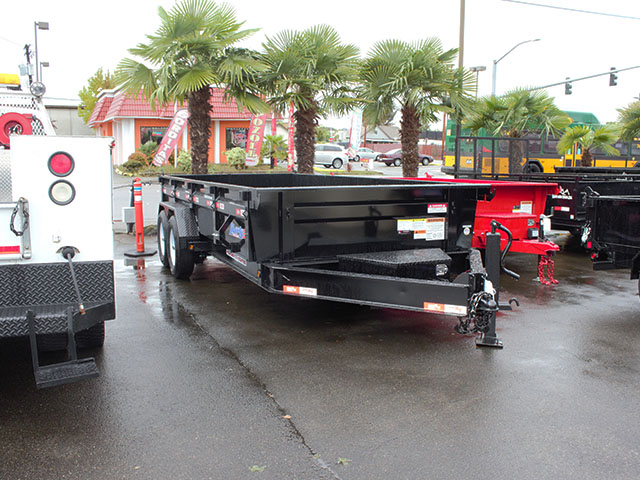 2021 LIBERTY 7 ft. x 16 ft. dump trailer from Town and Country Truck and Trailer Sales, Kent (Seattle), WA.